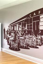 unthinkable cafe wall art decal french caf w a l t com without boundary alternative view decor kitchen sticker on cafe wall artwork with unthinkable cafe wall art the best walls gallery sites