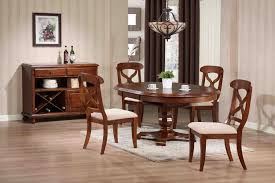 pedestal dining room table. Sunset Trading 5pc Andrews Pedestal Dining Set In Chestnut Finish | Room Table