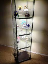 detolf glass door cabinet lighting. Ikea Detolf Glass Display Cabinet Light 29 With Door Lighting U