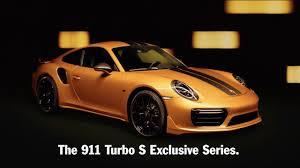 2018 porsche turbo s exclusive. unique 2018 porsche 911 turbo s exclusive series 2018 intended porsche turbo s exclusive r