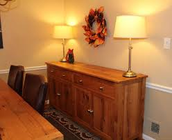 wood kitchen furniture. Oak Buffet Wood Kitchen Furniture