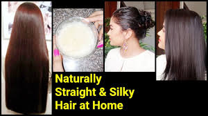 Magical Home Remedy To Get Naturally Straight Silky Hair Best