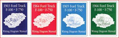 quality vintage wiring products made right made here 1963 66 ford f 100 f 750 wiring diagram manuals wiring diagram manuals are available for the 1963 66 1967 ford pickup trucks