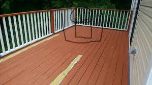 deck paint still kinda sticky after 12 hours of dry time deck2 jpg
