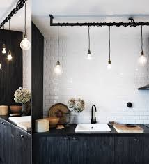 Track Lighting For Kitchen Industrial Style Track Lighting Simple And Ious Industrial