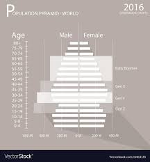 Generation Chart Population Pyramids Chart With 4 Age Generation