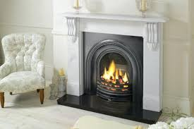 cast iron gas fireplace insert antique s