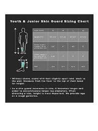 Adidas Shin Guards Youth Size Chart Protective Gear Adidas Size Small