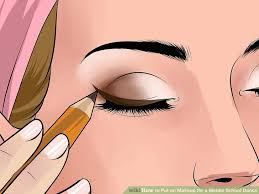 image led apply scene makeup as a step 5