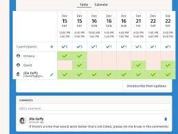 Group Scheduler Best Meeting Scheduler Apps