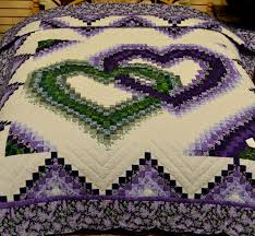 Bargello Heart Quilt Pattern