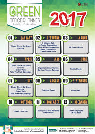 green ideas for the office. poster green office planner 2017 green ideas for the office