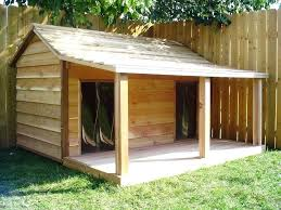 hinged roof dog house plans with lovely houses diy indoor