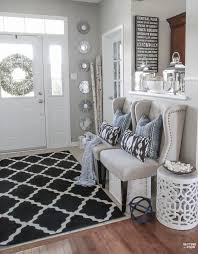 Black Furniture Living Room Ideas Adorable Decorating With Indigo Blue Black And Gray Shades Of Summer Home