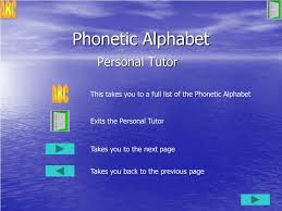 Template:selfref template:infobox writing system the international phonetic alphabet ( ipa ) is an alphabetic system of phonetic notation based primarily on the latin alphabet. Ppt Air Cadet Radio Training Powerpoint Presentation Free Download Id 5529889