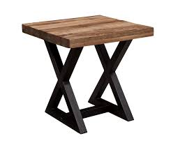 wood end tables. Amazon.com: Ashley Wesling Square End Table In Light Brown: Kitchen \u0026 Dining Wood Tables