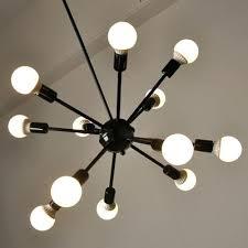 edison bulb chandelier industrial bulb chandelier in vintage loft style in black finish lights edison light edison bulb chandelier