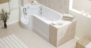 tremendeous step in bathtub on excellent tubs and showers walk tub how much does a cost