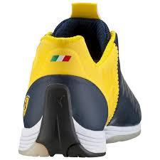 puma shoes ferrari yellow. puma men shoes ferrari evospeed 1.4 dress blues-white-vibrant yellow