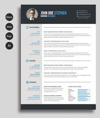 Resume Word Template Free Beauteous Free MsWord Resume and CV Template Free Design Resources