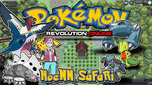 Hoenn Safari Zone 1 - Hoenn - Free TM & items ,hoenn starters - Pokemon  Revolution Online PRO - YouTube