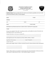 Lancaster City Police Implement Complaint Form Revisions | Local ...