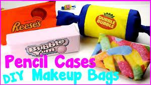 diy crafts 4 easy diy candy pencil caseakeup bags no sew craft idea you