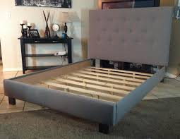 diy upholstered bed. Gallery Of Best Ideas About Upholstered Bed Frame Grey And Headboard Diy