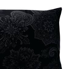 gothic victorian bedding midnight ink pillow cases and shams by sin in linen victorian gothic bedding gothic victorian bedding