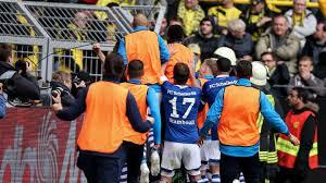 2018/2019 | Bundesliga | 31 - Borussia Dortmund : FC Schalke 04 - Fußball -  Schalke 04