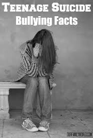 startling teenage suicide bullying facts teenage suicide bullying facts