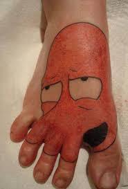 тату не для всех 16 людей набивших смешные рисунки на теле Golbis