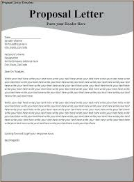 Project Proposal Template Pdf Free Business Sample Letter
