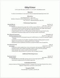 Example Resumes  Engineering Career Services  Iowa State University  throughout Sample Resumes For Engineering Students