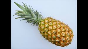 PINEAPPLE | How to cut a whole <b>fresh PINEAPPLE</b> - YouTube