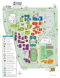 de anza college  campus map  home