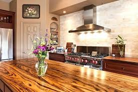 zebra wood rustic for countertops cost vs granite