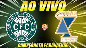 Coritiba x Azuriz ao vivo Campeonato Paranaense Narração - YouTube