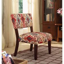 ikat accent chair. Delighful Accent HomePop Multicolor Ikat Large Accent Chair For C