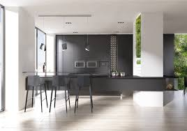 Multi Wood Kitchen Cabinets Design Light Black Kitchen Cabinet With Minimalist Multi Level