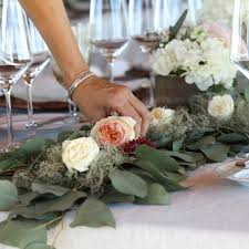 Putting Together The Greenery Garland Table Runner