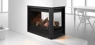 heat u0026 glo pier seethrough gas fireplace see through gas fireplace l29