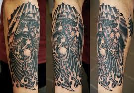 Tetování Anděl Vs ďábel Tetování Tattoo