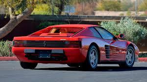 The hagerty price guide records that in april 2017 the average value for the ferrari was £126,350. 1988 Ferrari Testarossa S64 Glendale 2020