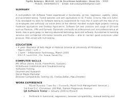 Example Of A Profile For A Resumes Examples Of Resume Profiles Sample Resume Marriage Profile Template