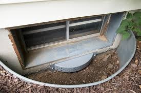 window well drainage. WaterGuard® Basement Drainage Waterproofing System Window Well E