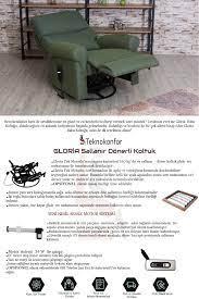 Tekno Konfor Gloria Motorlu Baba Tv Koltuğu Fiyatı