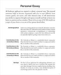 Grad School Essay Examples Personal Essay Example Accurate