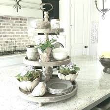 3 tier tray stand rustic tiered can decorate for the seasons three serving wood silver
