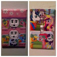 Pony Bedroom Accessories My Little Pony Bedroom Decoration I Made For My Daughters My
